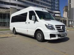 Прокат микроавтобуса с водителем в Минске
